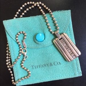 Tiffany and co Atlas Necklace